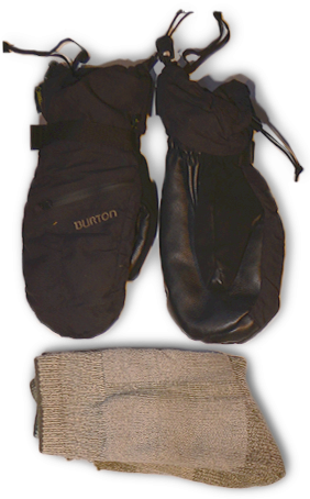 Extra socks & mittens