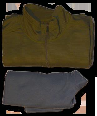 Additional Warm Clothing